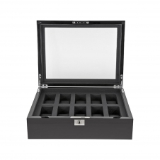 Wolf 461670 Savoy Black Wristwatch Box