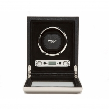 Wolf 461720 Exotic Single Wristwatch Winder Black