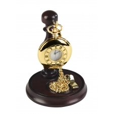 Woodford 1926 Gold Tone Pocket Watch With Presentation Stand