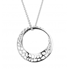 Rachel Galley WP100-SV Women's Warp Pendant
